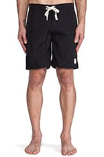 Colin Knee Length Boardshort in Black