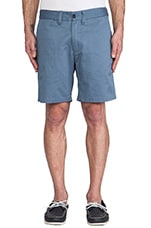 Tommy Chino Short in Steel Blue