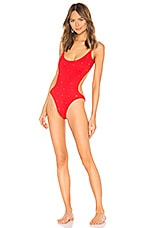 Sauvage Midnight Starlet One Piece in Red