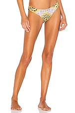 Sauvage Low Rise Rio Bikini Bottom in Dolce Vita