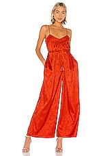 SAYLOR Elizabella Jumpsuit in Flame