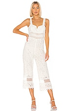 SAYLOR Gabri Jumpsuit in White
