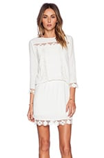 Leora Dress in White