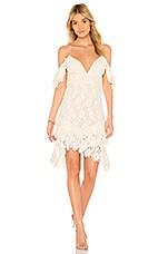 SAYLOR Dana Dress in White
