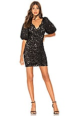 SAYLOR Lorena Dress in Black