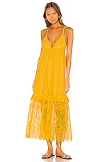 SAYLOR Danette Dress in Yellow