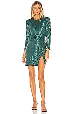 SAYLOR Rizzo Dress in Emerald