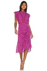 SAYLOR Melba Dress in Purple