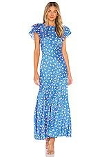 SAYLOR Jen Dress in Blue
