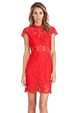 SAYLOR Jane Dress in Rouge