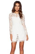 SAYLOR Josie Dress in White