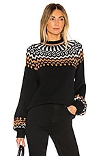 SAYLOR Souki Pullover in Black