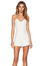 Erica Romper in White