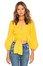 SAYLOR Abril Top in Yellow