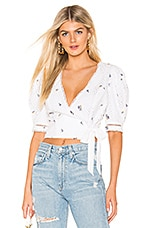 SAYLOR Angelia Top in White
