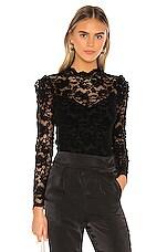 SAYLOR Maisy Bodysuit in Black