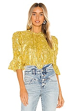SAYLOR Pippy Blouse in Mustard