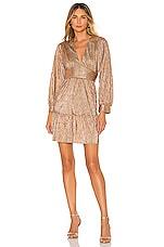 Sabina Musayev Jamey Dress in Bronze