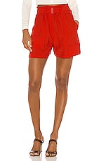 Sabina Musayev Hope Shorts in Red