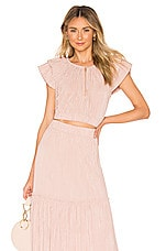 Sabina Musayev Amber Top in Blush