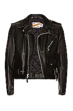 Schott One Star Perfecto Moto Jacket in Black