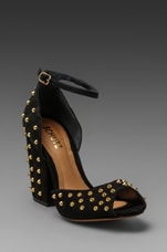 Dionise Heeled Sandal in Preto