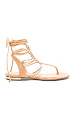 Leona Sandal in Light Wood