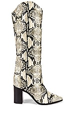 Schutz Analeah Boot in Natural Snake