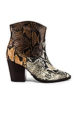 Schutz Haven Boot in Natural, Bear & Honey Beige Snake