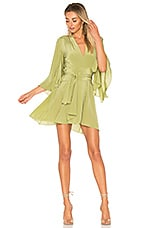 STONE_COLD_FOX Celeste Dress in Evergreen