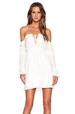 River Dress in White
