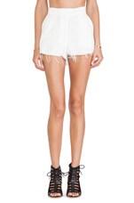 Florida Short in Textured White