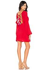 Sundress Margherita Dress in Red & Multi Pink