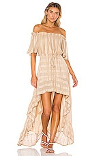 Sundress Alena Dress in Lisbonne Beige