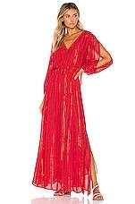 Sundress Laura Dress in Lisbonne Red
