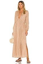 Sundress Chicago Long Dress in Roma Cafe Au Lait