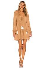 Sundress Neo Mini Dress in Saint Barth Canyon & White
