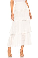 Sundress Adria Skirt in Georgette Off White