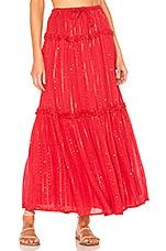 Sundress Noa Skirt in Roma Red