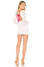 Sundress Margherita Dress in White & Multi
