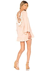 Sundress Cannelle Dress in Nude & White