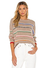 SUNDRY Oversized Crew Neck Sweeater in Oatmeal