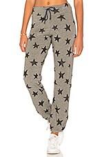 SUNDRY Star Sweatpants in Heather Grey