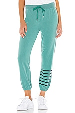 SUNDRY Basic Sweatpant in Pigment Emerald