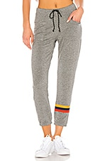 SUNDRY Patch Pocket Sweatpant in Heather Grey