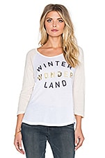 T-SHIRT GRAPHIQUE WINTER WONDERLAND BASEBALL