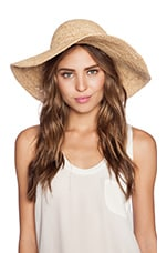 Seafolly Jetset Hat in Natural