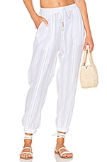 Seafolly Dobby Beach Pant in White