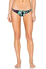 Jungle Out There Brazilian Bottom in Black
