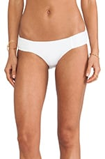 Net Effect Ruched Side Bottom in White
